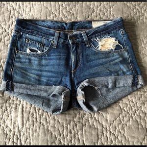 Rag & Bone Jean shorts size 24. Worn only twice.